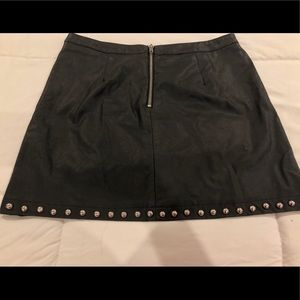 Forever 21 Skirts - Stuffed Faux Leather Skirt